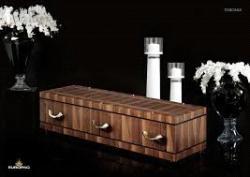 Inhumation du cercueil