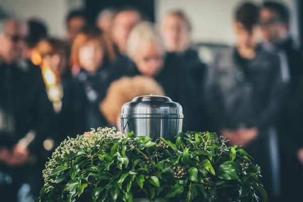 Cérémonie funéraire à La Louvière